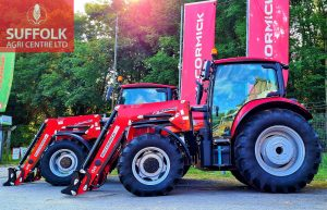 Two X5.55 tractors sold and waiting to be delivered